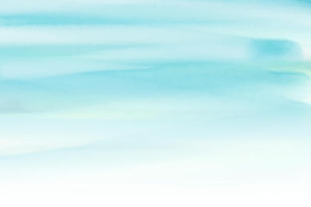 Fundo azul pintado à mão em aquarela