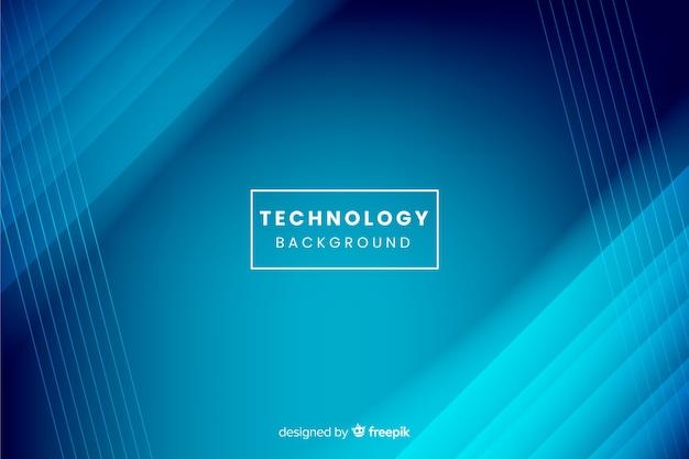Fundo azul tecnologia