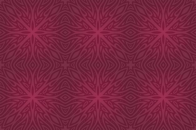 Fundo bonito com padrão sem emenda de azulejos coloridos abstratos