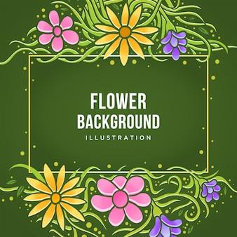 Fundo bonito da flor