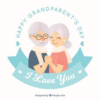 Fundo bonito do dia dos avós