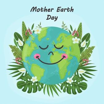 Fundo bonito para o dia da mãe terra
