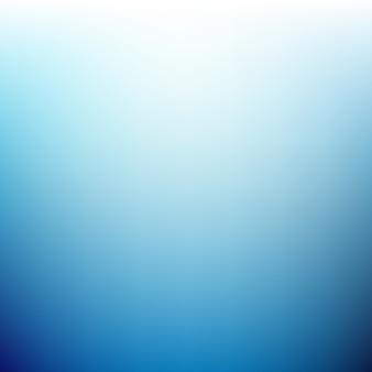 Fundo borrado azul brilhante Vetor grátis
