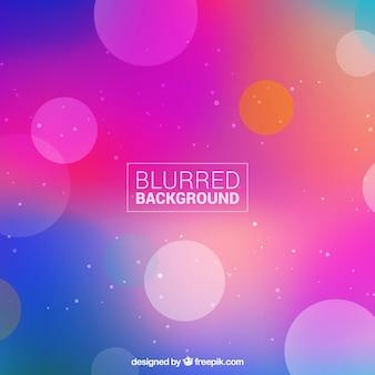Fundo borrado com cor brilhante