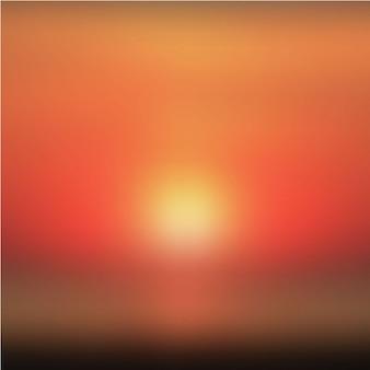 Fundo borrado do sol