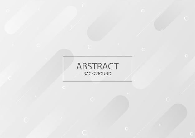 Fundo branco abstrato com gradiente de cor cinza moderno