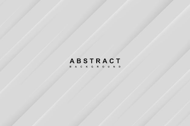 Fundo branco abstrato com linhas diagonais recortadas