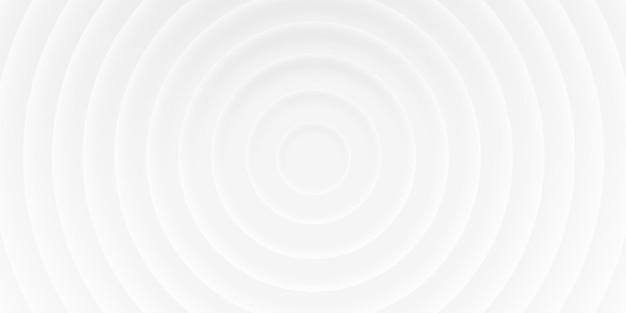 Fundo branco abstrato de círculos com sombras, estilo material 3d. textura de vetor geométrico para imprimir modelo, folheto, web, capa
