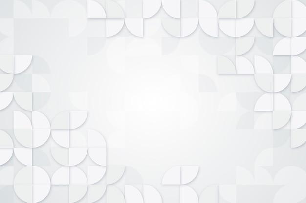 Fundo branco abstrato detalhado
