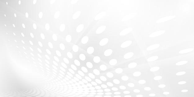 Fundo branco cinzento abstrato com ondas dinâmicas. tecnologia