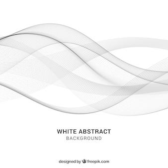 Fundo branco com design abstrato