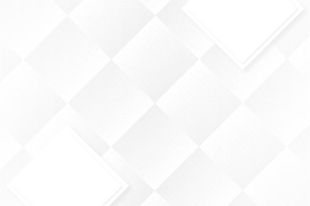 Fundo branco de formas abstratas