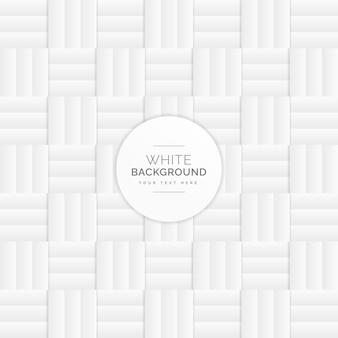 Fundo branco do teste padrão da grade