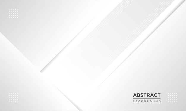 Fundo branco geométrico abstrato minimalista