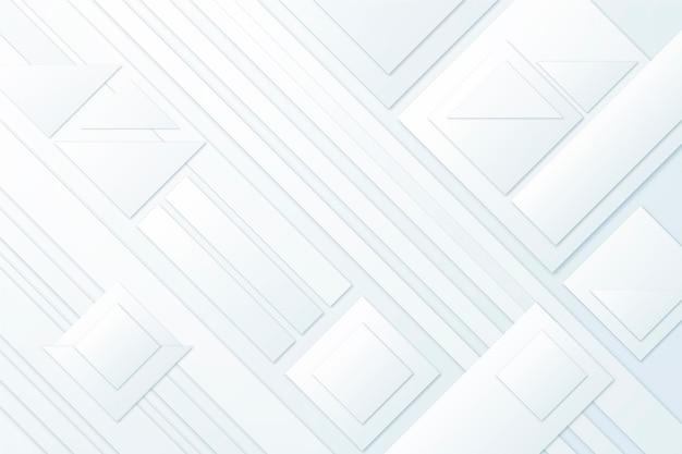 Fundo branco monocromático de estilo de papel