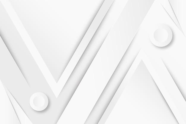 Fundo branco monocromático de estilo gradiente