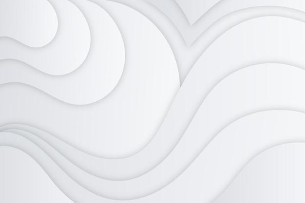 Fundo branco monocromático de linhas gradientes