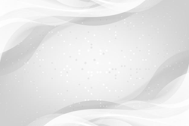Fundo branco monocromático dinâmico