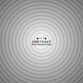 Fundo branco preto abstrato do círculo do inclinação.
