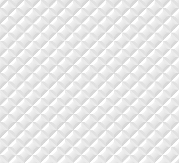 Fundo branco sem costura padrão