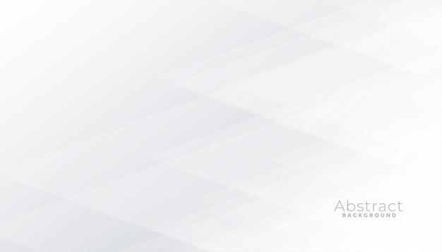 Fundo branco sutil com formas geométricas