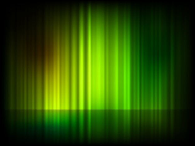 Fundo brilhante abstrato verde.