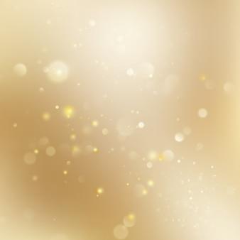 Fundo brilhante do feriado de natal dourado.