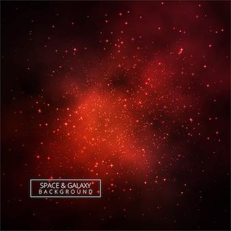 Fundo brilhante linda galáxia