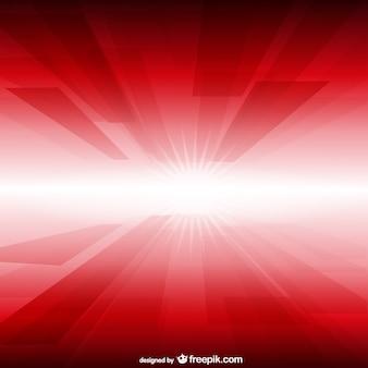 Fundo brilho vermelho e branco