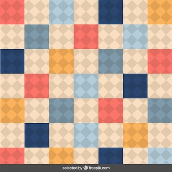Fundo checkered bonito