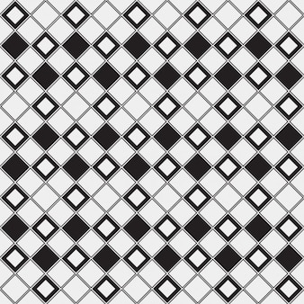 Fundo checkered monocromática