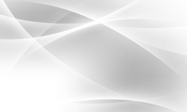 Fundo cinza abstrato com ondas dinâmicas. rede de tecnologia.