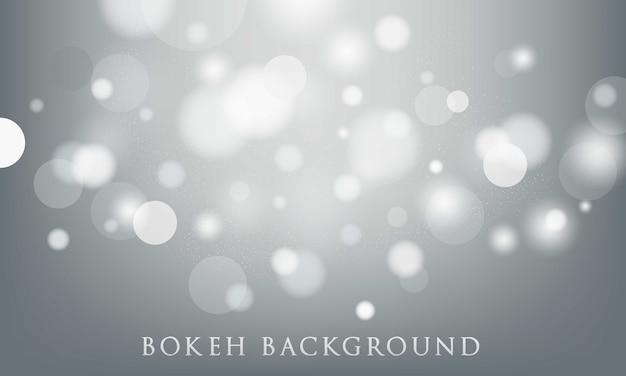 Fundo cinza bokeh, abstrato, textura leve