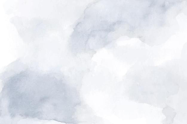 Fundo cinza branco com textura macia de aquarela.