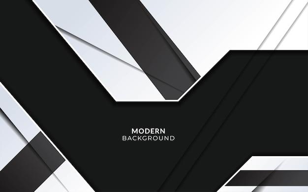 Fundo cinza elegante moderno com efeito de papel.