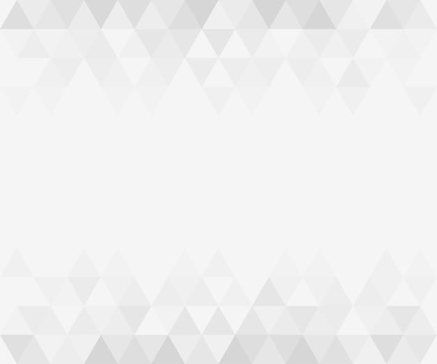 Fundo cinza gradiente triangular abstrato