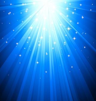 Fundo claro azul mágico abstrato