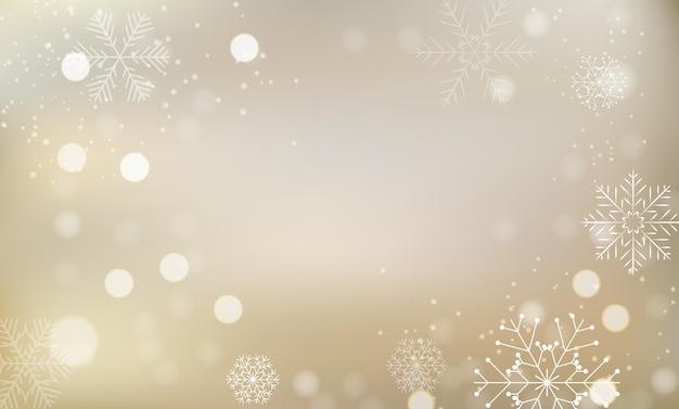 Fundo claro brilhante de natal e ano novo.