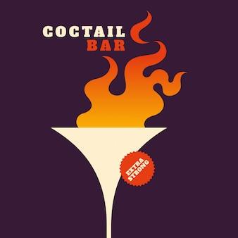 Fundo cocktail