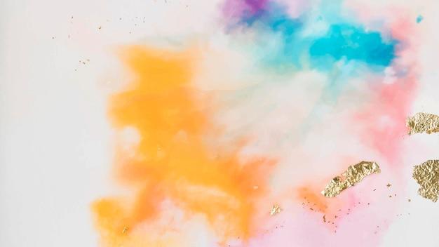 Fundo colorido abstrato aquarela pintura