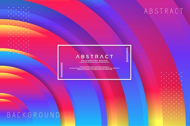 Fundo colorido abstrato círculo