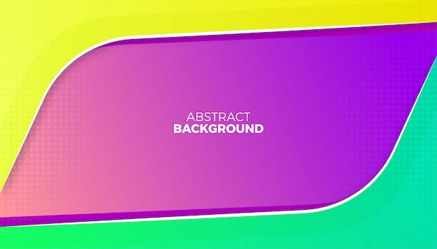 Fundo colorido abstrato dinâmico