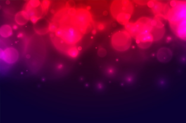 Fundo colorido abstrato do efeito de luzes do bokeh