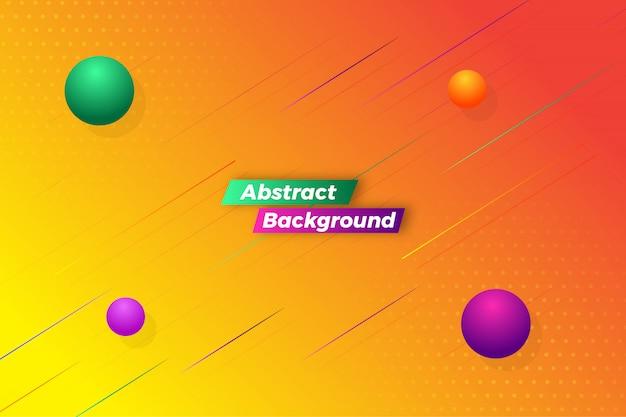 Fundo colorido abstrato elegante movimento