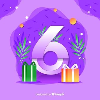 Fundo colorido abstrato feliz aniversário