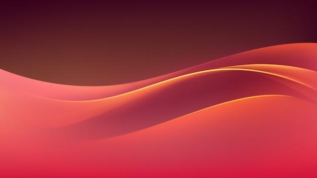 Fundo colorido abstrato onda multicolorida