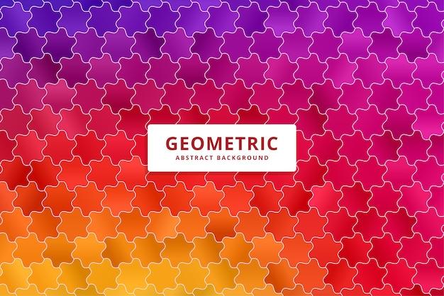 Fundo colorido abstrato. padrão de formas gradientes.