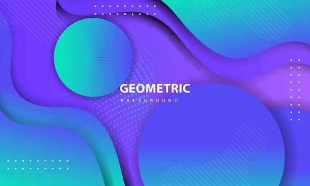Fundo colorido abstrato. projeto de elemento geométrico texturizado com decoração de pontos. modelo de design para página de destino, banner, cartazes, capa, etc.