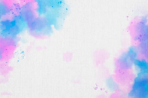 Fundo colorido aquarela abstrato
