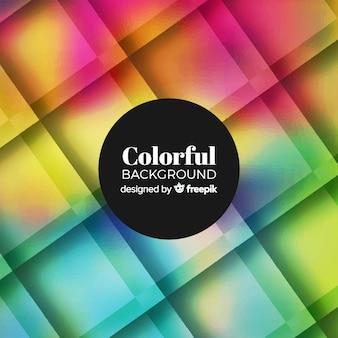 Fundo colorido com formas geométricas